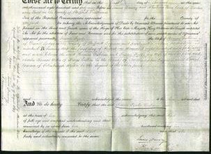 Deed by Married Women - Susan Fyshe Gisborne-Original Ancestry