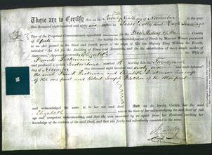 Deed by Married Women - Elizabeth Dickinson-Original Ancestry