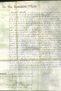 Court of Common Pleas - Elizabeth Cooper-Original Ancestry