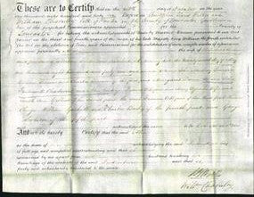 Deed by Married Women - Alice Chadwick-Original Ancestry