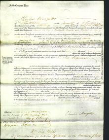Court of Common Pleas - Sarah Arnold and Elizabeth Hearn-Original Ancestry