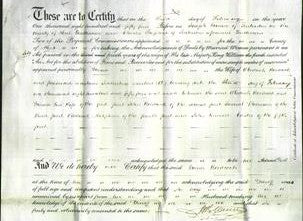 Deed by Married Women - Maria Woodcock-Original Ancestry