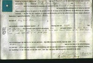 Deed by Married Women - Ann Sarah Kocher-Original Ancestry
