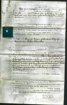 Deed by Married Women - Ann Mason-Original Ancestry