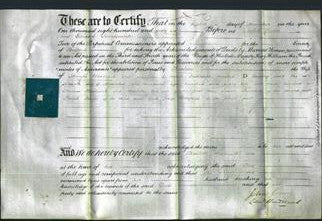 Deed by Married Women - Charlotte Hardwick-Original Ancestry