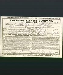 Receipt - American Express Company