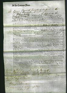 Court of Common Pleas - Anne Glazebrook-Original Ancestry