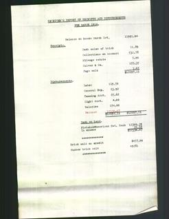 Receiver's Report of Receipts and Disbursements for March 1914