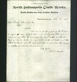 Letterhead - North Indianapolis Cradle Works