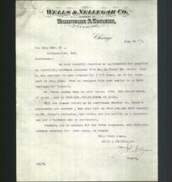 Letterhead - Wells & Nellegar Co.