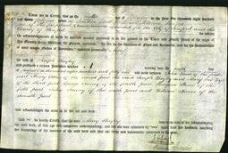 Deed by Married Women - Mary Bayley-Original Ancestry