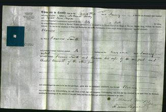 Deed by Married Women - Clarissa Smith-Original Ancestry