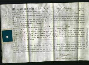 Deed by Married Women - Maria Cooper-Original Ancestry