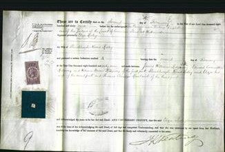 Deed by Married Women - Eliza Risley-Original Ancestry