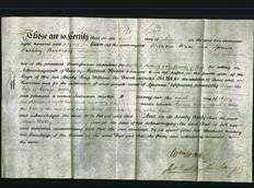 Deed by Married Women - Ann Uttley-Original Ancestry