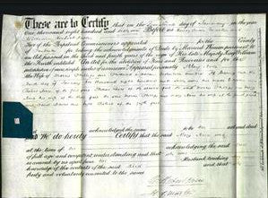 Deed by Married Women - Mary Anne Phillips-Original Ancestry