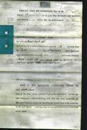Deed by Married Women - Sarah Jane Lill-Original Ancestry