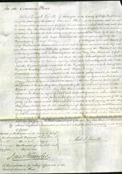 Court of Common Pleas - Mary Ann Evans-Original Ancestry