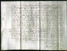 Deed by Married Women - Mary Hartley and Elizabeth Hirst-Original Ancestry