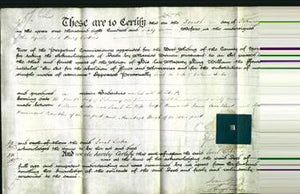 Deed by Married Women - Sarah Lister-Original Ancestry