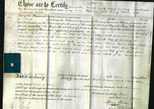 Deed by Married Women - Sarah Parsons and Anne Blow-Original Ancestry