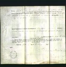 Appointment of special commissioners - Thomas Leburn, James Blackwatt and William Mason-Original Ancestry
