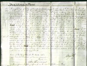 Court of Common Pleas - Ann Morgan-Original Ancestry