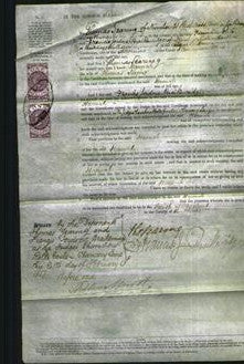 Court of Common Pleas - Hannah Searing-Original Ancestry