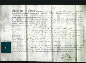 Deed by Married Women - Mary Anne Pattrick-Original Ancestry