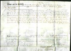 Deed by Married Women - Hannah Bayley and Eliza Cresswell-Original Ancestry