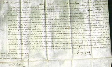 Court of Common Pleas - Ann Walker-Original Ancestry