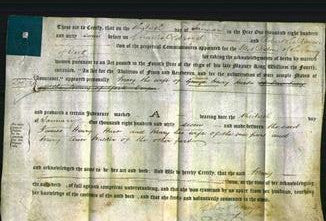 Deed by Married Women - Mary Hart-Original Ancestry