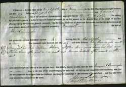 Deed by Married Women - Margaret Burroughs-Original Ancestry