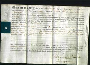 Deed by Married Women - Dorothy Jenkinson-Original Ancestry