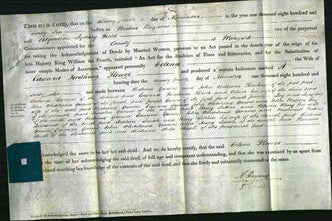Deed by Married Women - Celina Flower #2-Original Ancestry