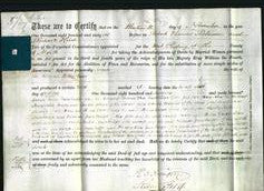Deed by Married Women - Sarah Crowe-Original Ancestry