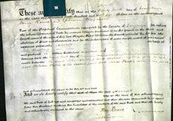Deed by Married Women - Hannah Rowling-Original Ancestry