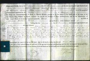 Deed by Married Women - Celina Flower #3-Original Ancestry