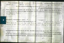 Deed by Married Women - Rosanna Whale-Original Ancestry