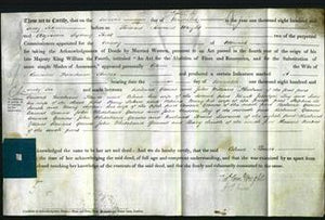 Deed by Married Women - Celina Flower #5-Original Ancestry