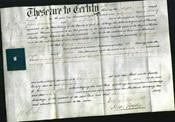 Deed by Married Women - Georgiana Atkinson-Original Ancestry