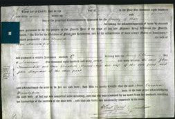 Deed by Married Women - Ann Elizabeth Musselwhite-Original Ancestry