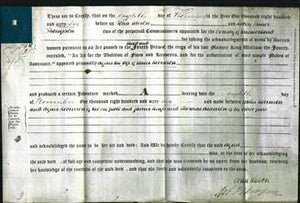 Deed by Married Women - Agnes Robinson-Original Ancestry