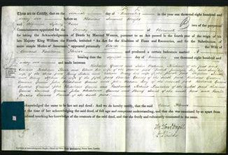 Deed by Married Women - Celina Flower #9-Original Ancestry