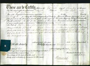 Deed by Married Women - Sarah Edwards-Original Ancestry