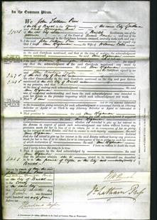 Court of Common Pleas - Ann Highman Cates-Original Ancestry