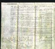 Court of Common Pleas - Eliza Atkinson Ridley-Original Ancestry