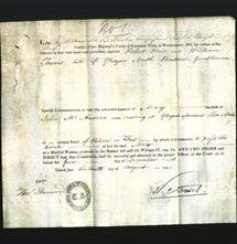 Appointment of Special Commisioners - Robert Reid, William Towers-Original Ancestry