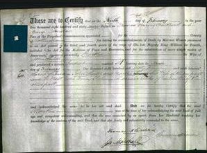 Deed by Married Women - Martha Smith-Original Ancestry