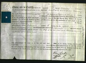 Deed by Married Women - Sarah Lincoln-Original Ancestry